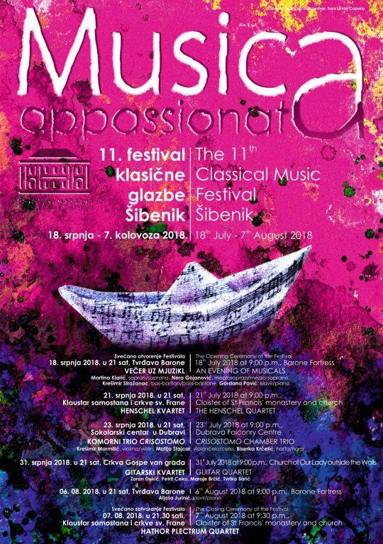 """Svečano otvorenje 11. festivala klasične glazbe """"Musica appasssionata"""""""