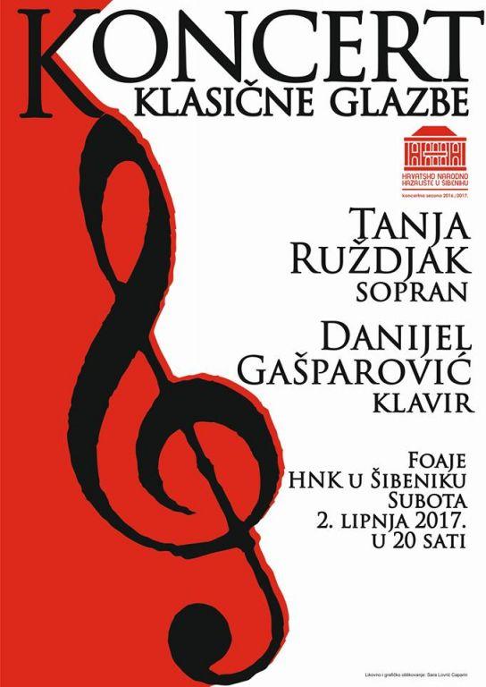 Koncert Tanja Ruždjak i Danijel Gašparović